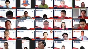 Lộ diện những quán quân của cuộc thi tiếng Anh học thuật English Champion 2021