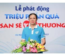 Chủ tịch Hội LHPNVN Hà Thị Nga phát động Chương trình