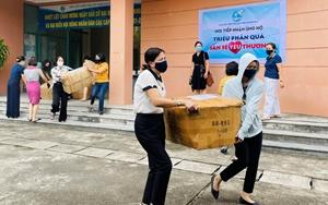 """Hải Dương ủng hộ hơn 1 400 suất quà """"san sẻ yêu thương"""" tới mền Nam"""