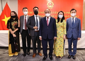 Chủ tịch nước Cộng đồng người Việt ở nước ngoài đã có những đóng góp to lớn vào sự phát triển của đất nước