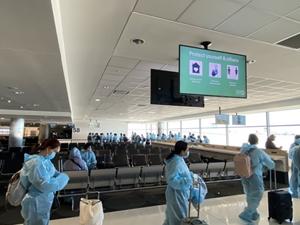 Chuyến bay hồi hương khởi hành từ Australia trong tháng 10 2021
