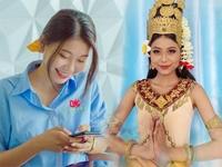 Cô gái người Khmer đang là ứng viên sáng của Hoa hậu Hoàn vũ Việt Nam