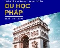 Triển lãm giáo dục trực tuyến 'Mùa Thu du học Pháp' tại Việt Nam