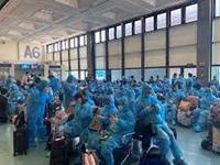 Chuyến bay đưa công dân Việt Nam từ Bỉ về nước ngày 28 10 2021