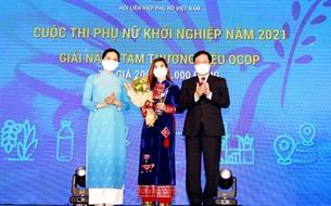 Cuộc thi Phụ nữ khởi nghiệp năm 2021 tôn vinh 24 dự án xuất sắc, tiêu biểu